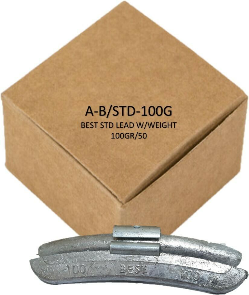 BEST STD LEAD W/WEIGHT 100GR/50