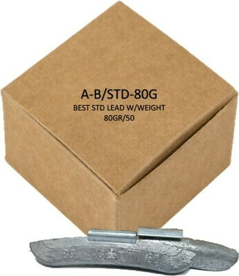 BEST STD LEAD W/WEIGHT 80GR/50