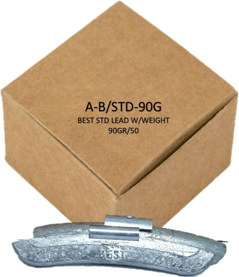 BEST STD LEAD W/WEIGHT 90GR/50