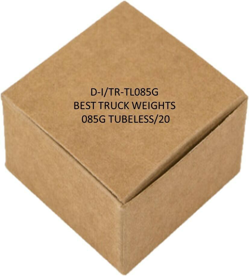 BEST TRUCK WEIGHTS - 085G TUBELESS/20