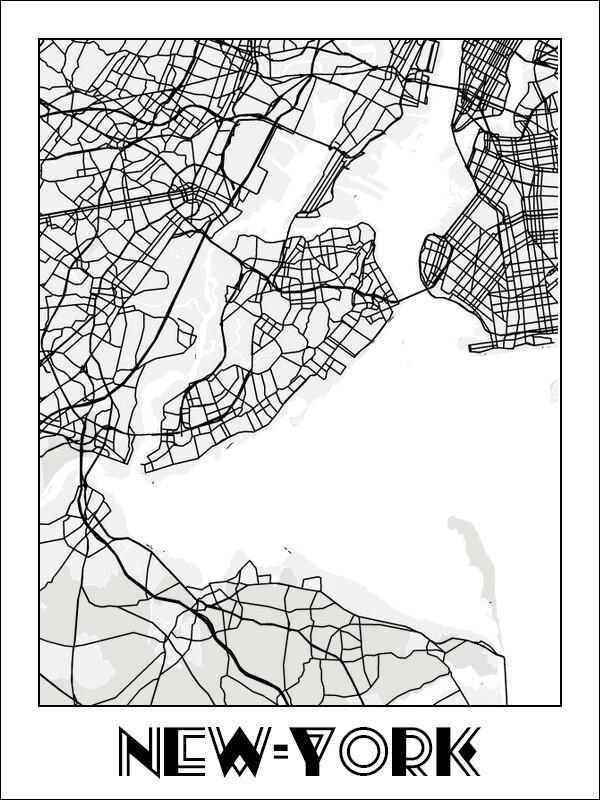 """Постер """"New York"""""""