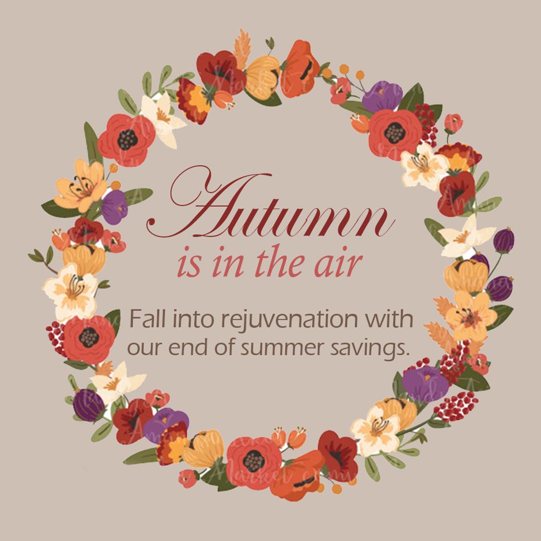 Autumn Savings 00000