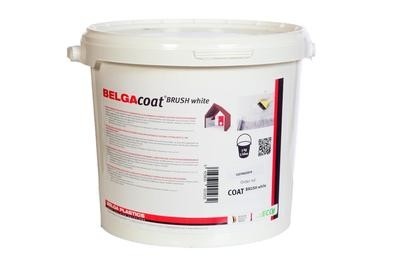Belgacoat Brush white 5 liter, air tight paint