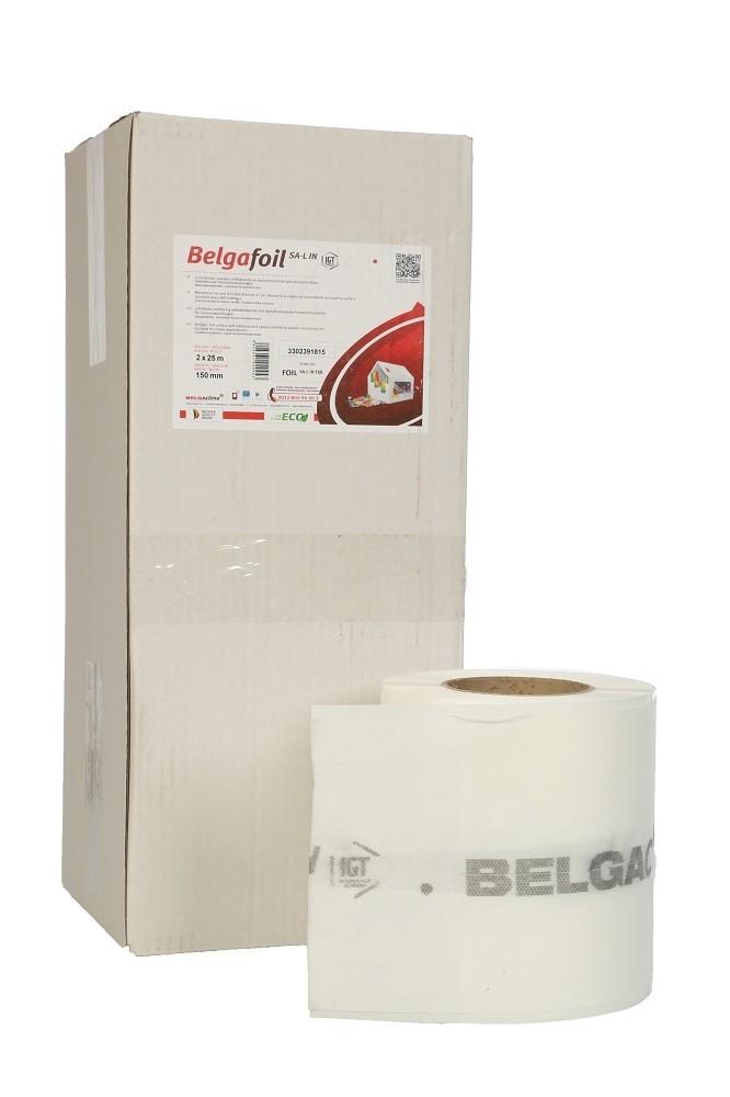 BelgaFoil SA-L IN, self-adhesive internal window tape, 25m per roll