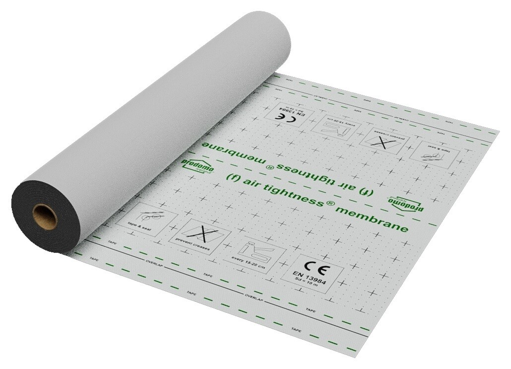 (f)air tightness® membrane EXTRA, 1.5 x 50m, CE certified