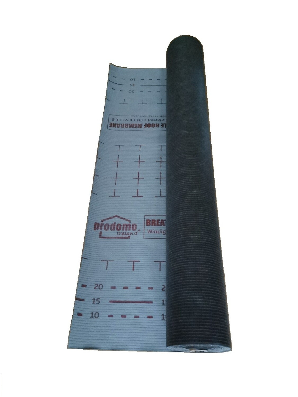 prodomo BS breathable roof membrane, 1.5m x 50m
