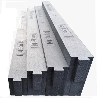 Thermal insulation bracket for door thresholds, 160/180/200/230mm height
