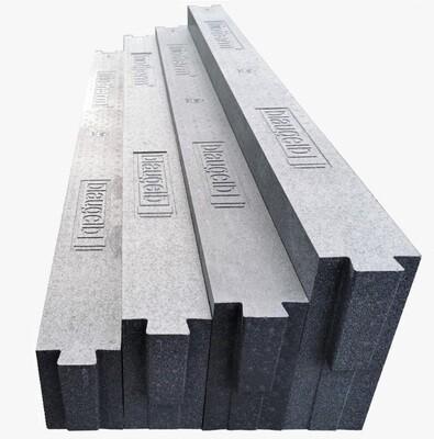 Thermal insulation bracket, 160/180/200/230mm x 85mm x 1,175mm