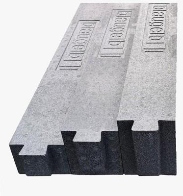 Thermal insulation bracket, 70/100/120/140mm x 85mm x 1,175mm