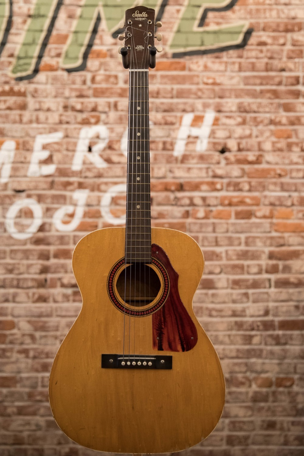 1967 Stella by Harmony Flat Top Acoustic