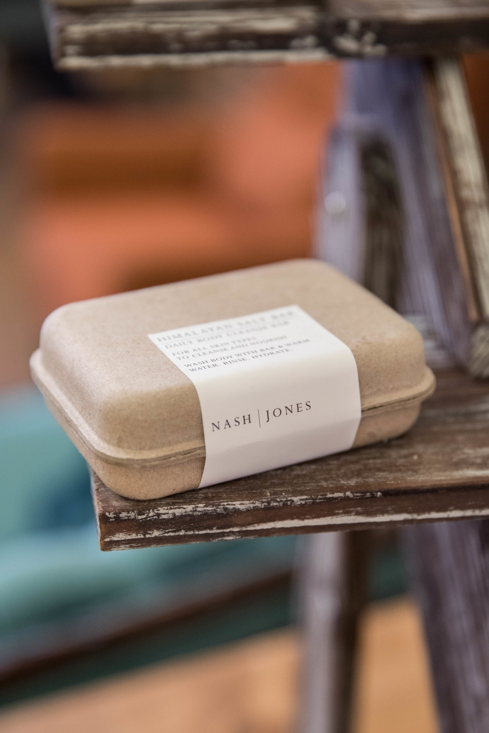 Nash and Jones - Cleansing Bar - Rosemary Peppermint