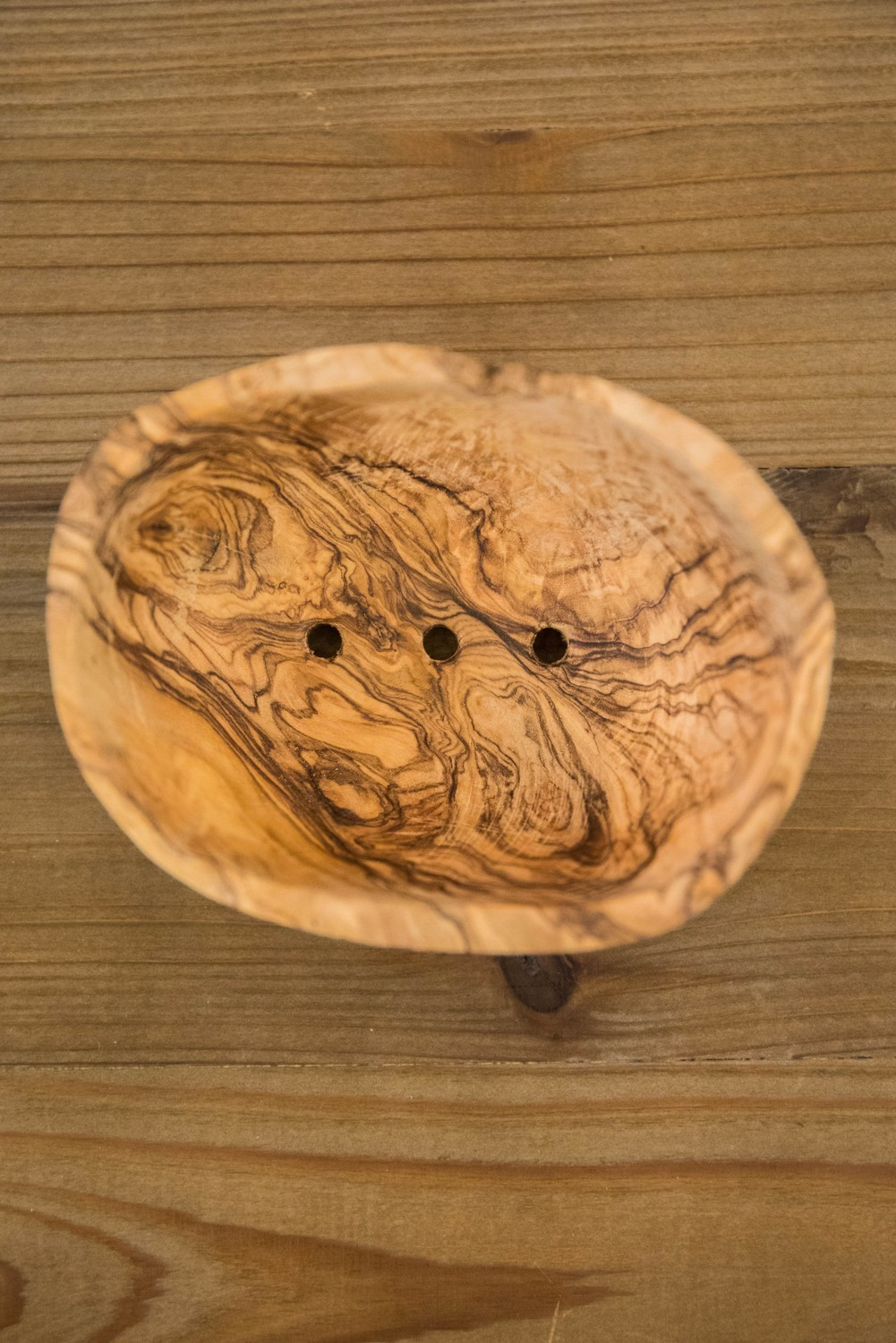 Nash and Jones - Hand Carved Wood Soap Dish
