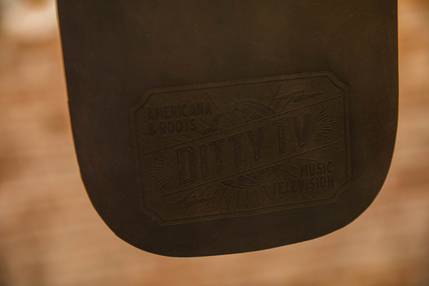 DittyTV mouse pad leather brown