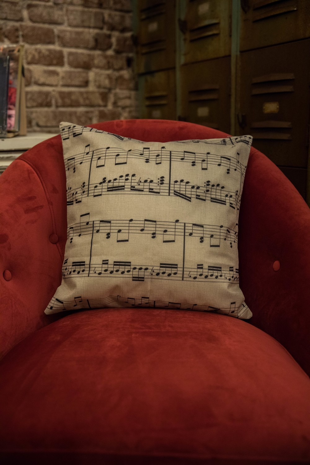 DittyTV Music Note Pillow