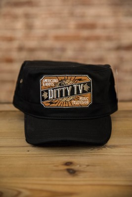 Decky Vintage G.I. Caps - Black
