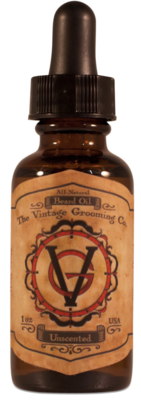 Vintage: Unscented Beard Oil