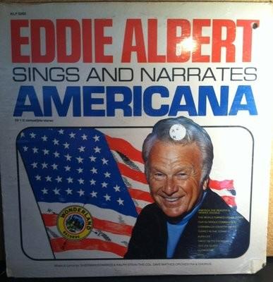 Eddie Albert Sings And Narrates Americana Sealed Vinyl Record Album