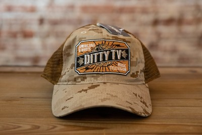 Soft Crown Camo Trucker Caps