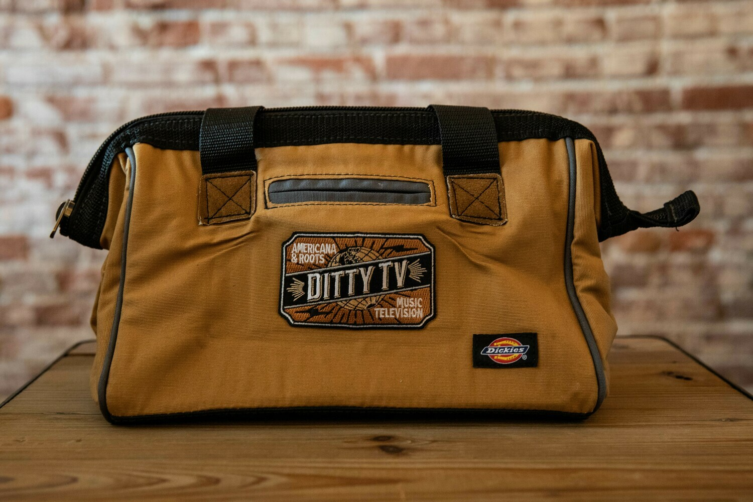 DittyTV 12-Inch Tool Bag- Brown Duck