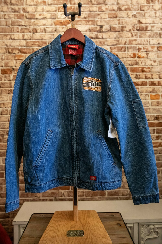 Mens Heritage Denim Jacket-Classic