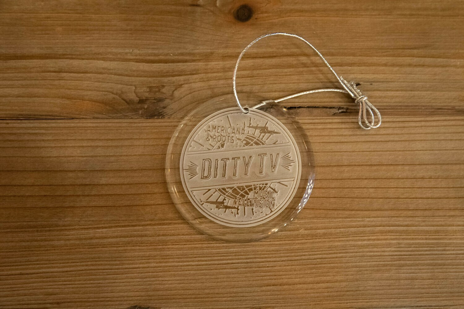 Ditty TV Crystal Ornament