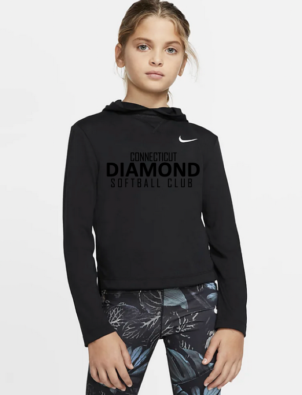 Youth Dry Fit Long Sleeved TShirt - BLACK