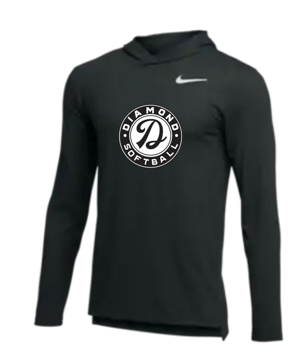 Mens Adult Dry Fit Long Sleeved T Shirt (GRAY/BLACK)