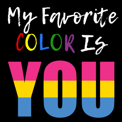 My Favorite Color - Pansexual Pride T-Shirt