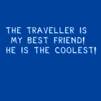 The Traveller - Critical Role T-Shirt