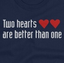 Two Hearts - Doctor Who T-Shirt