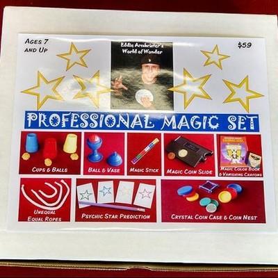 Eddie Armbrister's PROFESSIONAL Magic Set