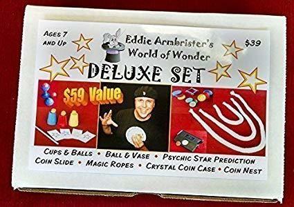 Eddie Armbrister's World of Wonder DELUXE Magic Set