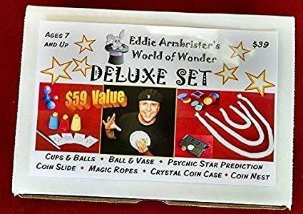 Eddie Armbrister's World of Wonder DELUXE Magic Set