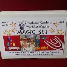 Cleigh and Caitlin WORLD OF WONDER Magic Set