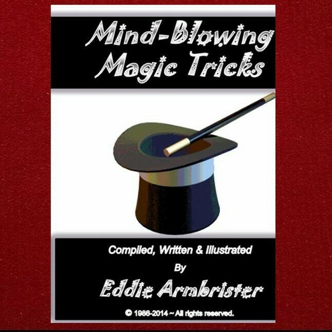 Mind Blowing Magic Tricks Book & Kit