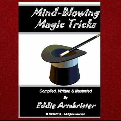 Mind Blowing Magic Tricks Book & Kit