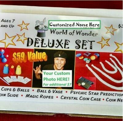 Customize Box Set Upgrade with YOUR Photo and Name