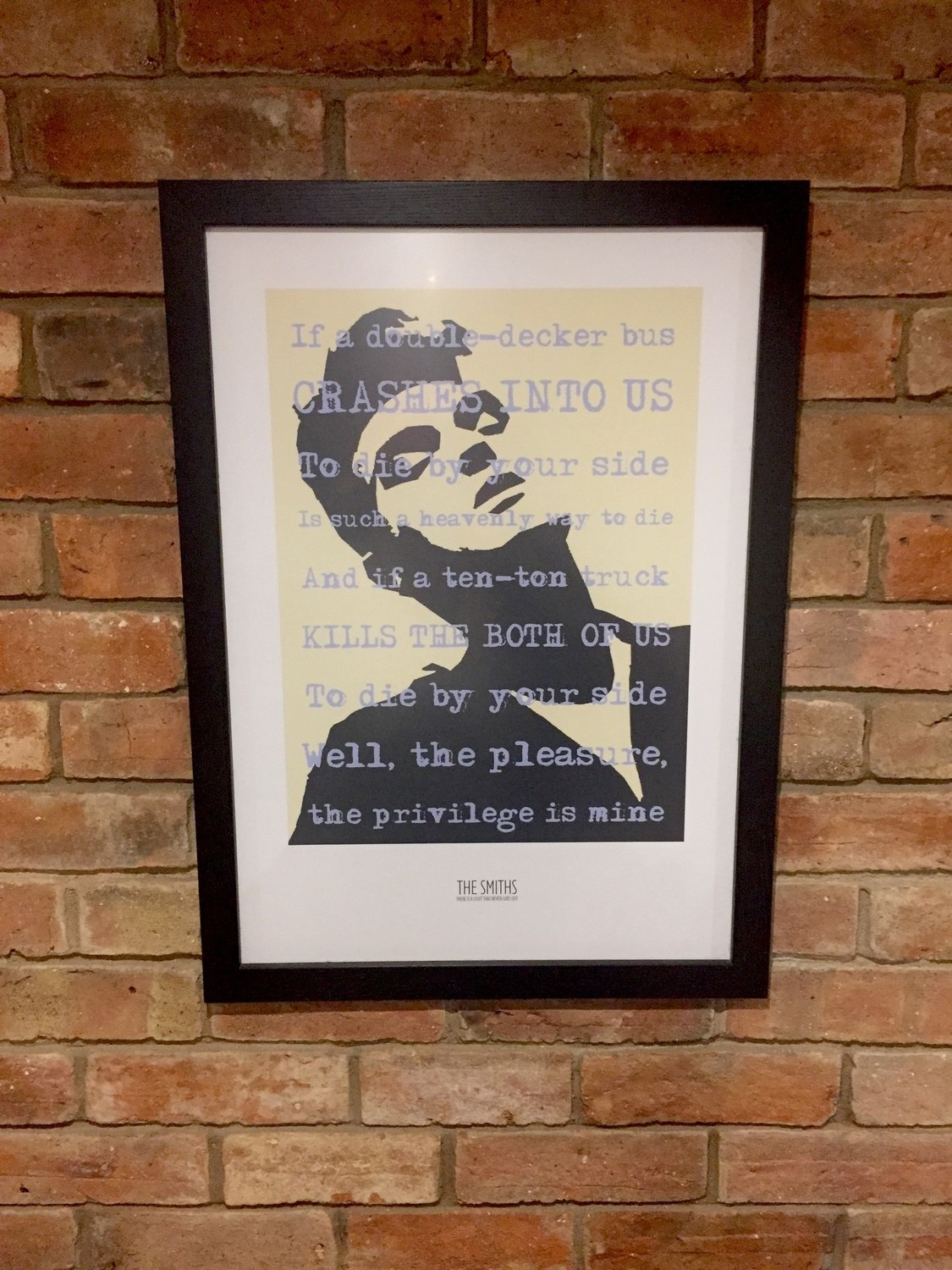 THE SMITHS/MORRISSEY print