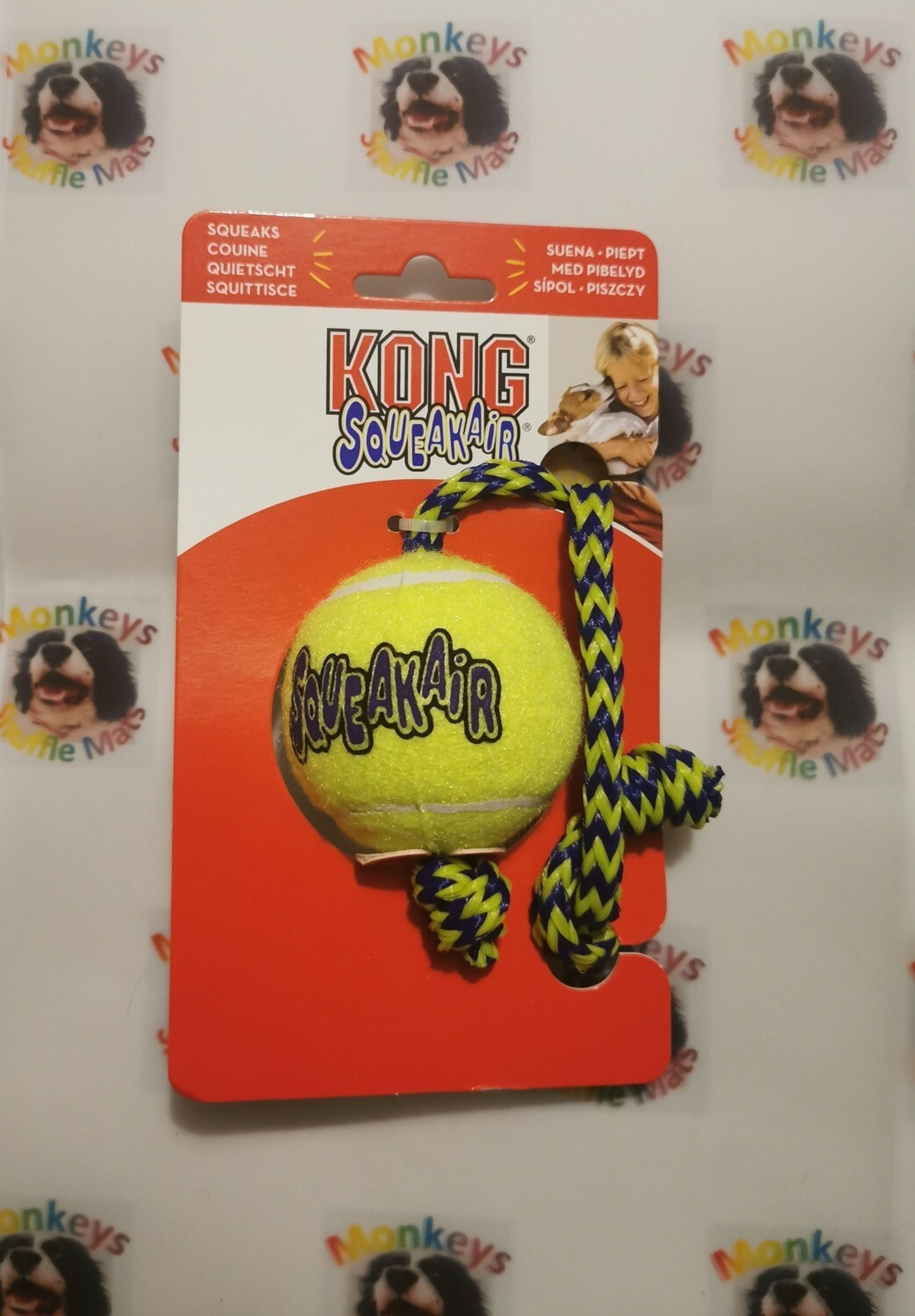 Kong Ball Rope Toy