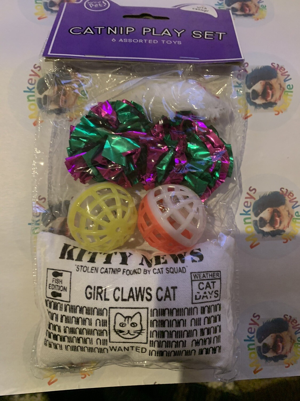 Catnip Gift Set
