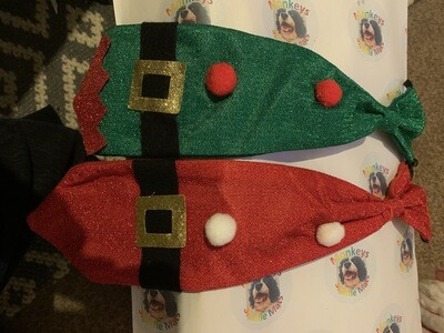 Elasticated Festive Ties
