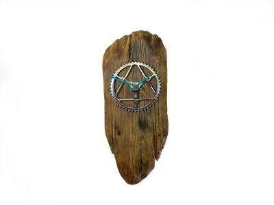 Uhr Handmade im Treibholzlook