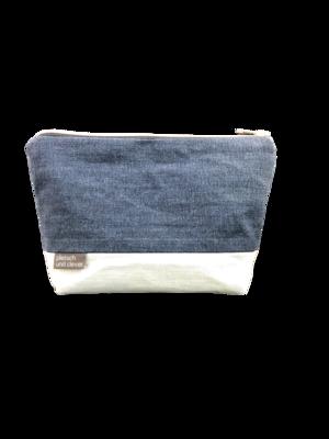 Deernskram Kosmetiktasche - Jeans - Upcycling