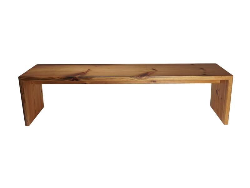 Dekorative Vintage Holzbank A