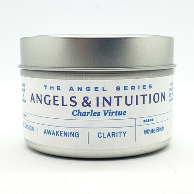 Angels and Intuition by Charles Virtue Intention candle