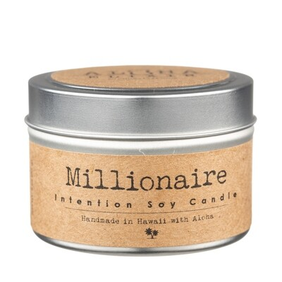 Millionaire Intention Soy Candle