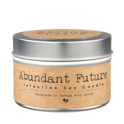 Abundant Future Intention Candle