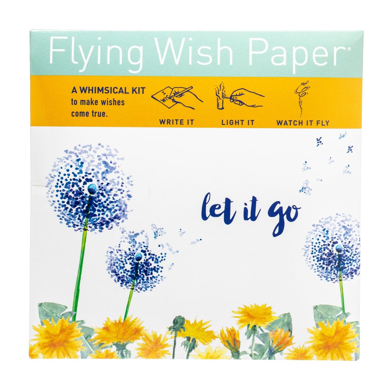 Flying Wish Paper Let it go