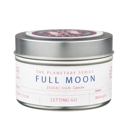 Full Moon Cancer Intention Candle