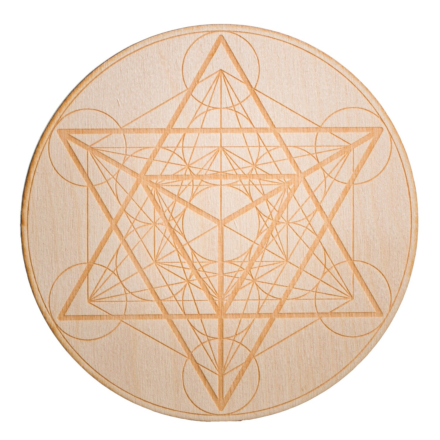 Metatron Wooden Grid